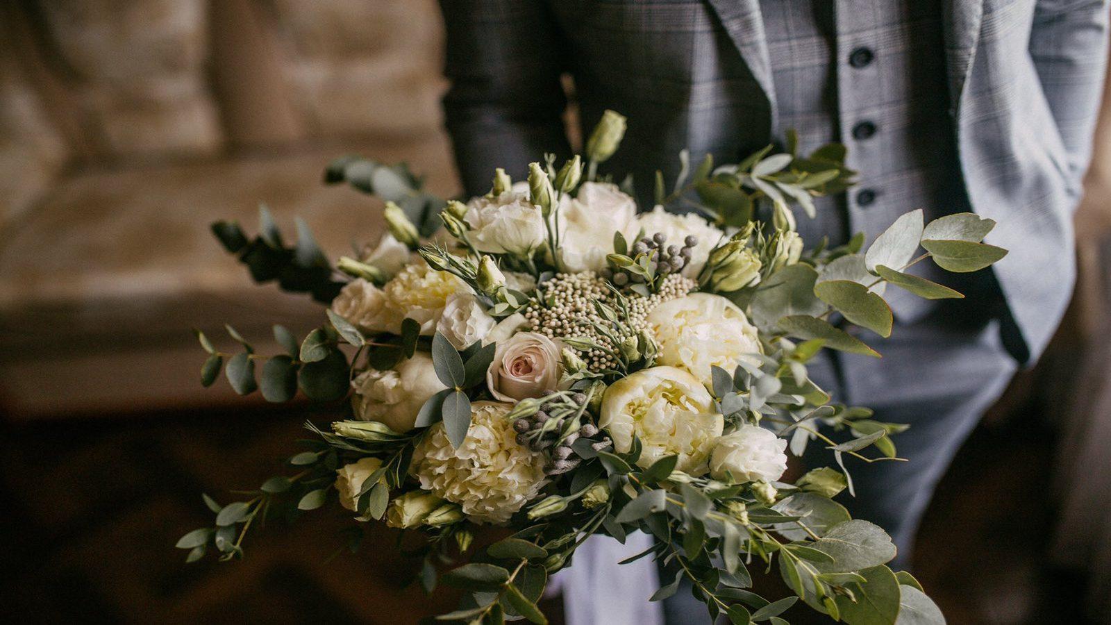 Свадебные букеты | Эксклюзивно